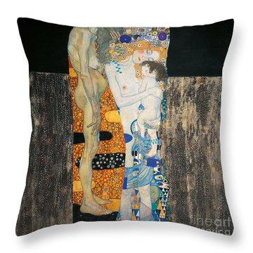 Allegory Throw Pillows