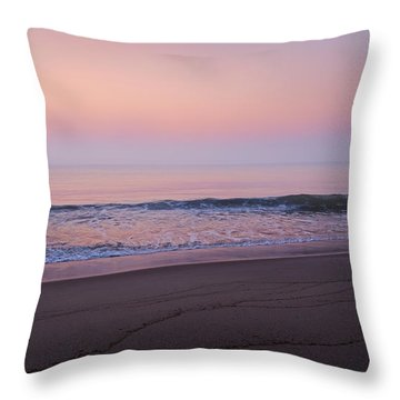 The Tide Keeper Throw Pillow by Bill Wakeley