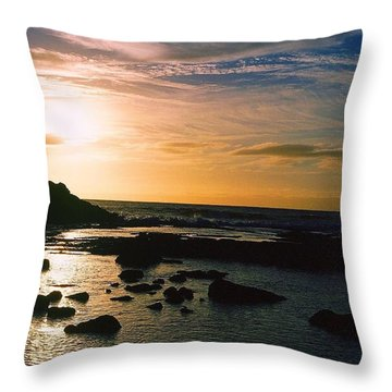 The Tide Will Turn Throw Pillow