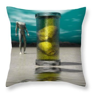 The Time Capsule Throw Pillow