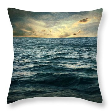 The Time I Was Daydreaming Throw Pillow by Taylan Apukovska