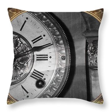 Throw Pillow featuring the photograph The Time Machine by Gunter Nezhoda
