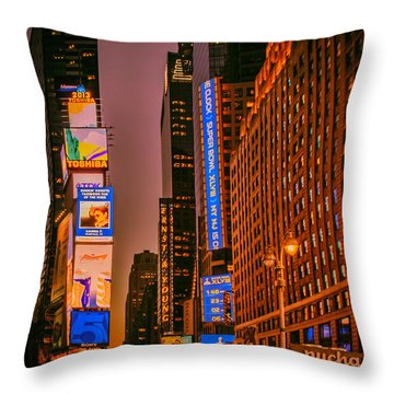 The Timeless Square Throw Pillow