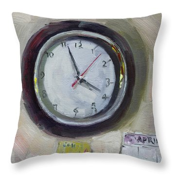 The Times Throw Pillow