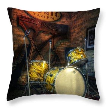 Drum Throw Pillows