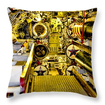 The Torpedo Bay Throw Pillow