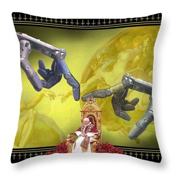 The Touch Throw Pillow