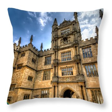 The Tower Of The Five Orders Throw Pillow by Tim Stanley