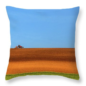 Tractors Throw Pillows