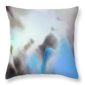 Throw Pillow featuring the photograph The Travelers by Christine Ricker Brandt
