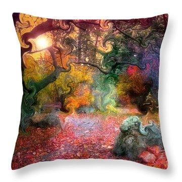 The Tree Where I Used To Live Throw Pillow by Tara Turner