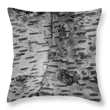 The Trees Have Eyes Throw Pillow by Heidi Smith