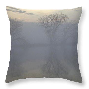 The Trees Of Avalon Throw Pillow