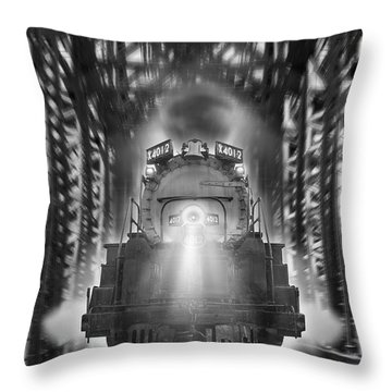 The Trestle  Throw Pillow by Mike McGlothlen