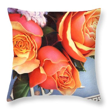 The Tribute Throw Pillow by Amy S Turner