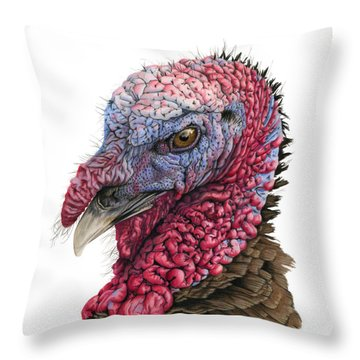 The Turkey Throw Pillow