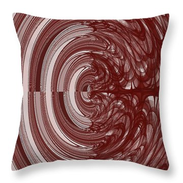 The Two Sides Of Myeloma Throw Pillow