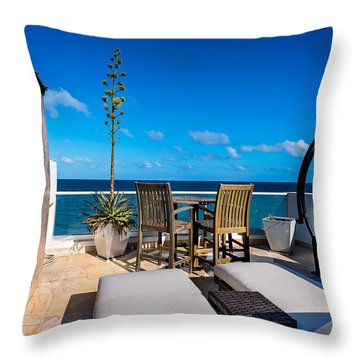 The Ultimate Deck Throw Pillow