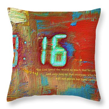 The Ultimate Sacrifice Throw Pillow by Robert ONeil