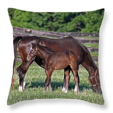The Union Of One Throw Pillow