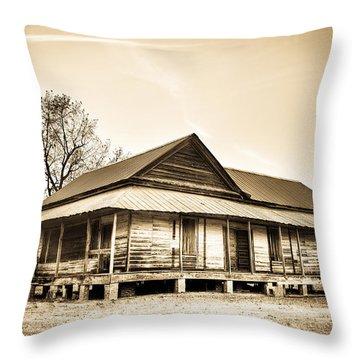 The Union School Throw Pillow