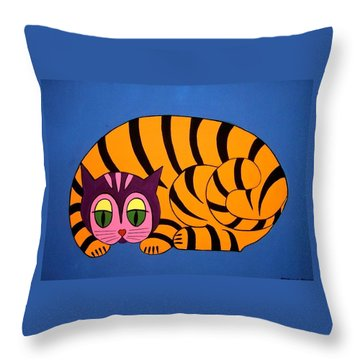 The Unity Cat Throw Pillow