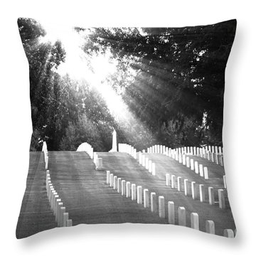 The Unknown Soldiers Throw Pillow