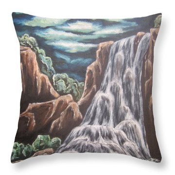 The Untamed Imagination Throw Pillow