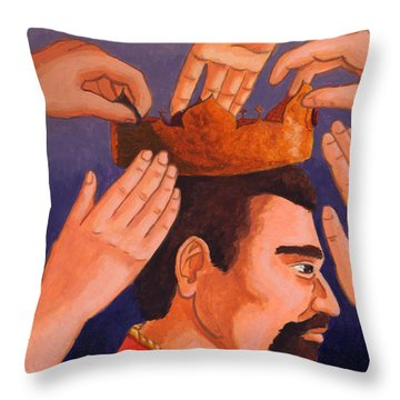 The Usurper Throw Pillow