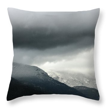 Throw Pillow featuring the photograph The Valley by Dana DiPasquale