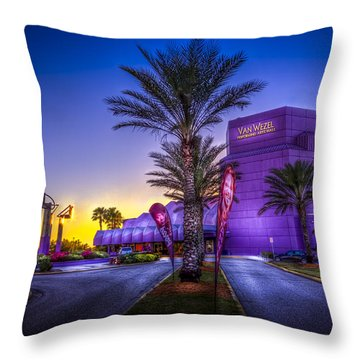 The Van Wezel Throw Pillow by Marvin Spates