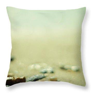 The Vanishing Throw Pillow