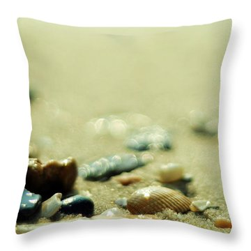 The Vanishing Throw Pillow by Rebecca Sherman