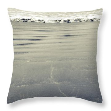 The Vastness Of The Sea Throw Pillow by Lisa Knechtel