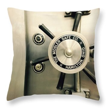 The Vault Throw Pillow
