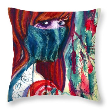 The Veil Throw Pillow