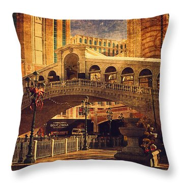 The Venetian  Throw Pillow