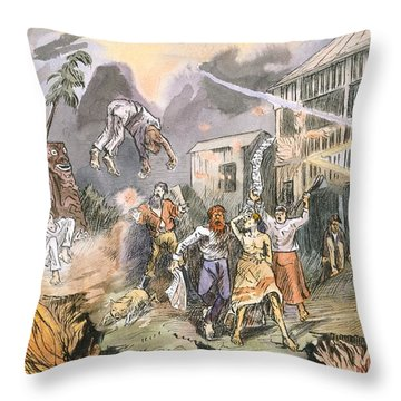 The Very Same Night The Whole Place Throw Pillow