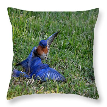 The Victor Throw Pillow