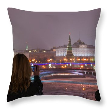 The View - Featured 3 Throw Pillow by Alexander Senin