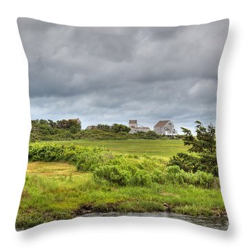 The View From The Bridge Throw Pillow