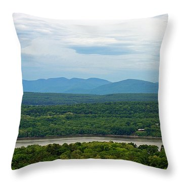 The View From The Tower Throw Pillow