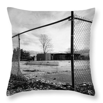 The View Throw Pillow by Luke Moore