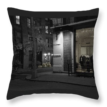 The Village Always New Throw Pillow by Steve Archbold