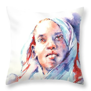 The Visionary Throw Pillow by Stephie Butler