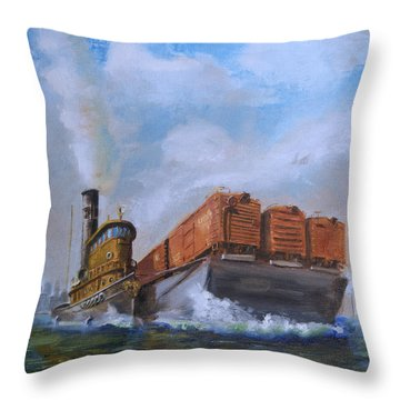 The Vital Link Throw Pillow by Christopher Jenkins