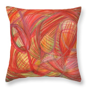The Voice Of Daring Throw Pillow