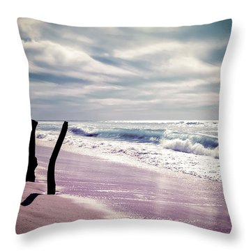 The Voice Of The Sea Throw Pillow