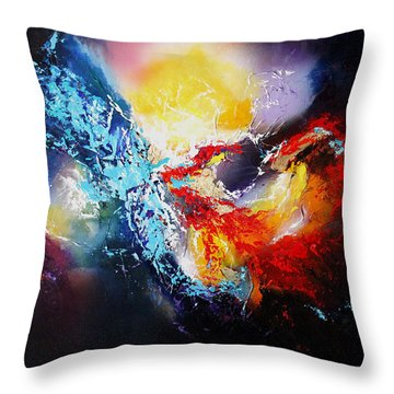 The Vortex Throw Pillow by Patricia Lintner