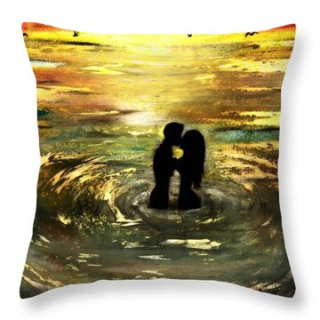 The Vow Throw Pillow